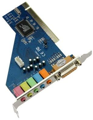 ultron 6 Channel CH C-Media CMI8738 PCI Sound Audio Card