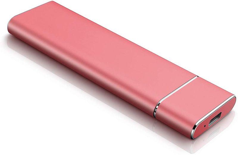 Wsgoo External Hard Drive,Hard Drive USB 3.1 for Mac,PC, Desktop, Laptop, MacBook, Chromebook, Xbox One, Xbox 360, PS4 (2tb, red)