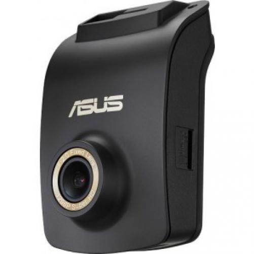 ASUS 90YU00I2-B03EA0 Dashcam, FullHD 1920x1080p, Notfall-Aufnahmefunktion, GPS, Schwarz