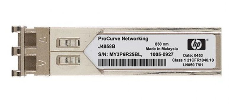 Hewlett Packard Enterprise X121 1G SFP LC SX Transceiver Netzwerk Medienkonverter