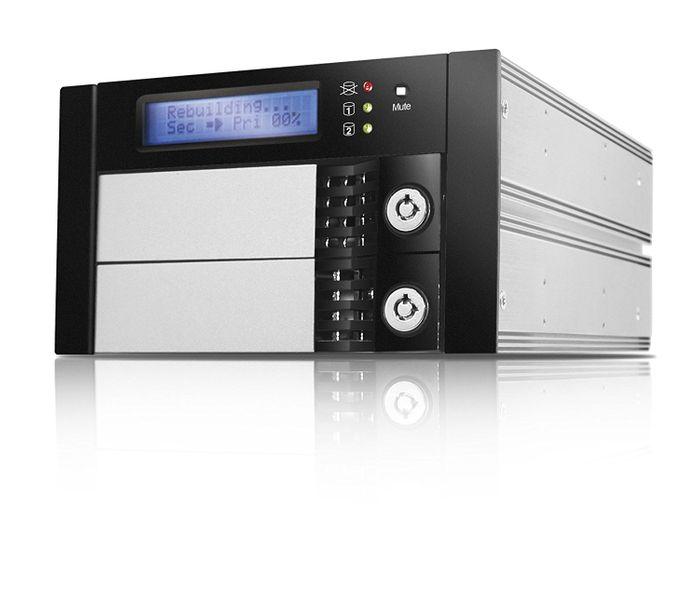 "RAIDON SR2611-2S-S2R Internal RAID System for SATA Hard Drive (2x 3.5"") Black"