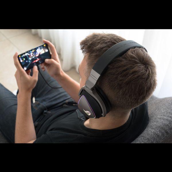 ASUS ROG Delta Kopfhörer Kopfband Schwarz