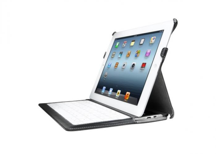 Kensington KeyLite Bluetooth Weiß Tastatur für Mobilgeräte (FRA Layout - AZERTY)