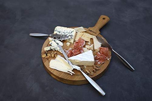 Boska cheese knife set Monaco+, 3 pieces, stainless steel