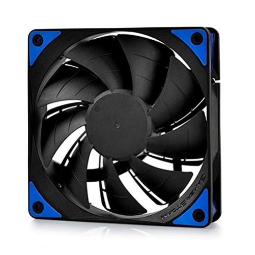 DEEPCOOL TF120 120 mm Standard Gehäuselüfter| Extrem leiser Lüfter | Case Fan mit Standardgehäuse | Push- Oder Pull Konfiguration möglich