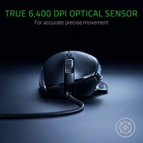 RAZER Basilisk Essential Maus USB Optisch 6400 DPI rechts