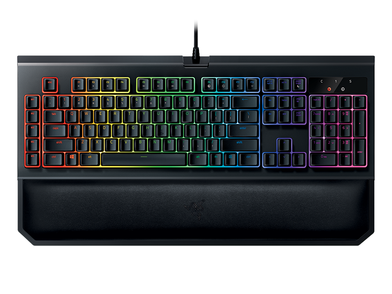 RAZER BlackWidow Chroma V2 Gaming Keyboard Green Switches (ESP Layout - QWERTY)