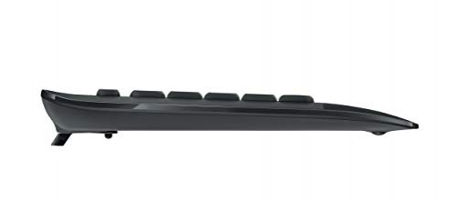 Logitech Advanced Wireless Combo Tastatur RF Wireless Schwarz (DEU Layout - QWERTZ)