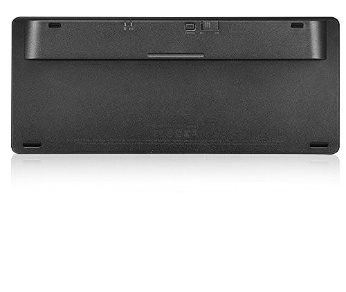 RAPOO E6350 - Bluetooth Ultra-slim Keyboard black (DEU Layout - QWERTZ)