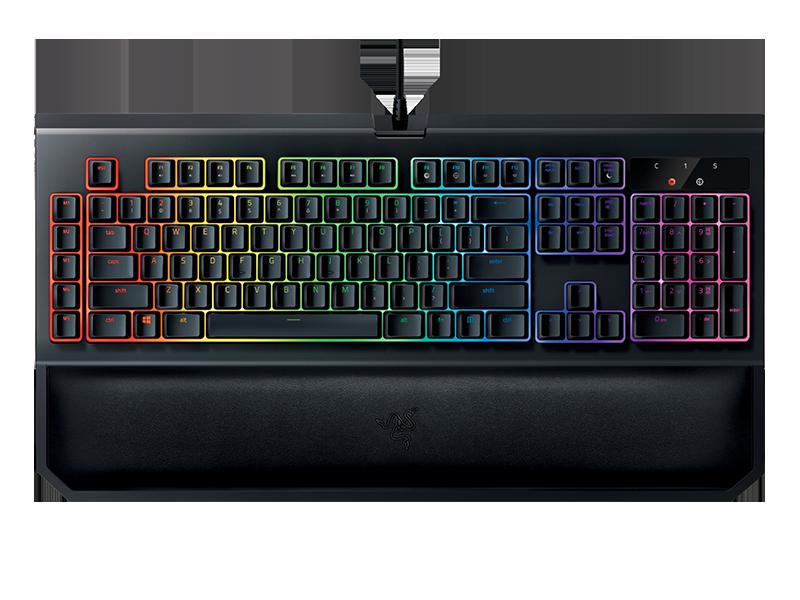 Razer BlackWidow Chroma V2 Gaming Keyboard Green Switches (PRT Layout - QWERTY)