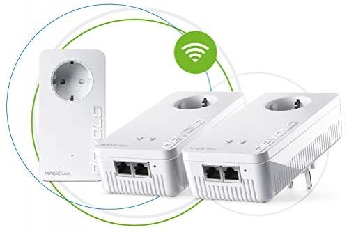 Devolo Magic 2 Wi-Fi Mesh Powerline Netzwerkdose Multiroomkit Plug-Type F (EU)
