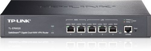 TP-LINK SafeStream Gigabit Dual-WAN VPN Cable Router Plug-Type F (EU)