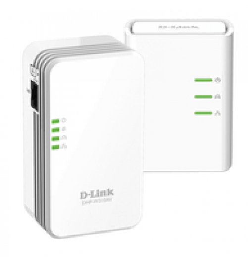 D-LINK Powerline AV 500 Wireless N Mini Starter Kit DHP-W311AV (EU) - Plug-Type F (EU)