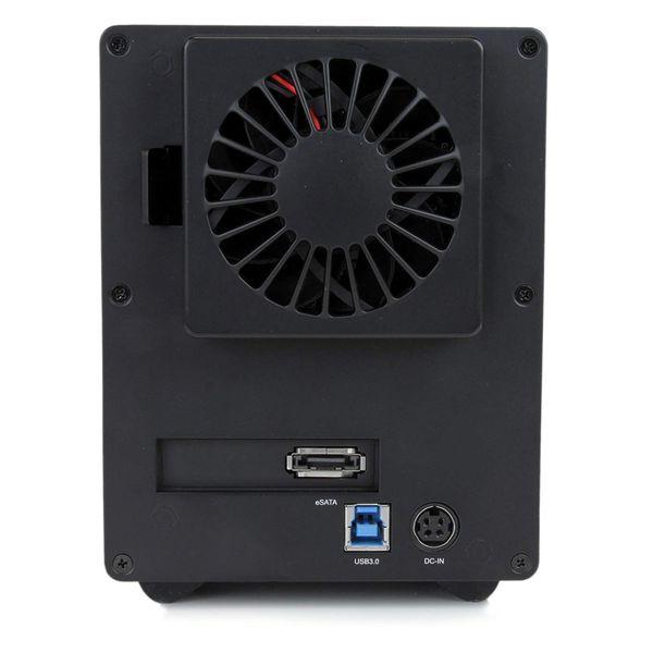 StarTech 3.5 inch USB 3.0 SATA III Hard Drive Enclosure 4 Bay