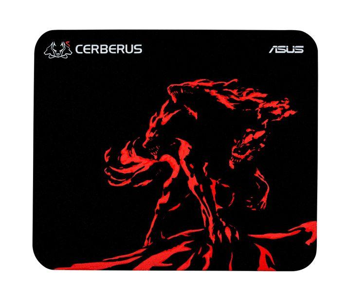 ASUS Cerberus Mat Mini Schwarz, Rot Gaming-Mauspad