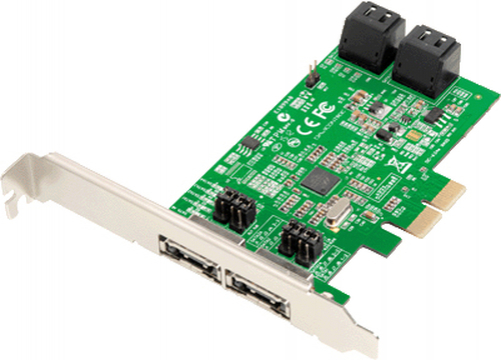 Dawicontrol DC-624E RAID RAID-Controller PCI Express x2 2.0