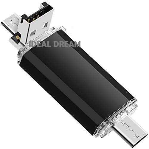Ideal Dream 16g Type C Flash Drive with Micro USB and USB 2.0