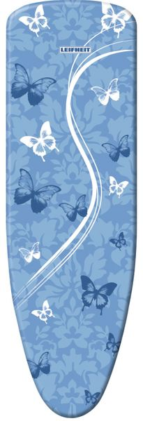 LEIFHEIT 71606 Ironing board cover Padded ironing board cover cotton, polyester, polyurethane blue