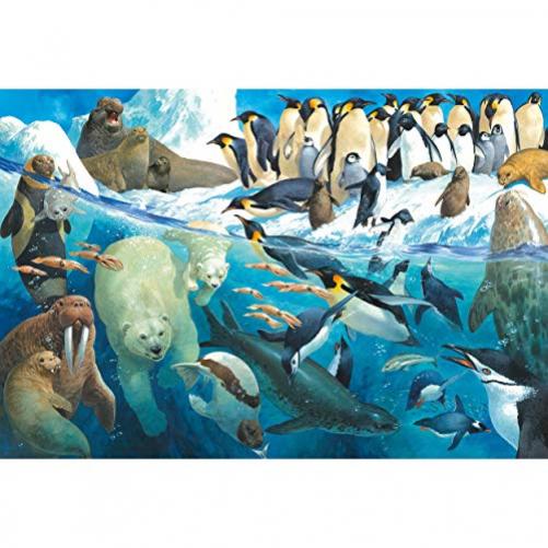 Schmidt Spiele Games Puzzle Child Puzzle, Animals of the Arctic Circle, Multicolor