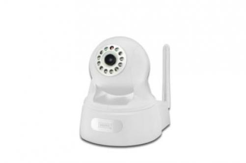 Digitus DN-16029 IP-Sicherheitskamera Innenraum Sphärisch Weiß 1920 x 1080Pixel