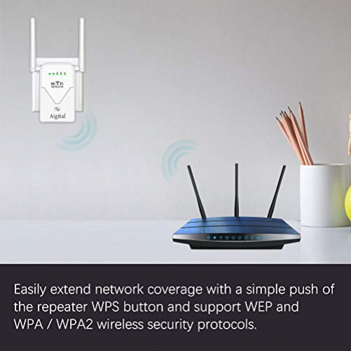 Aigital WLAN Repeater Router 750AC High Speed